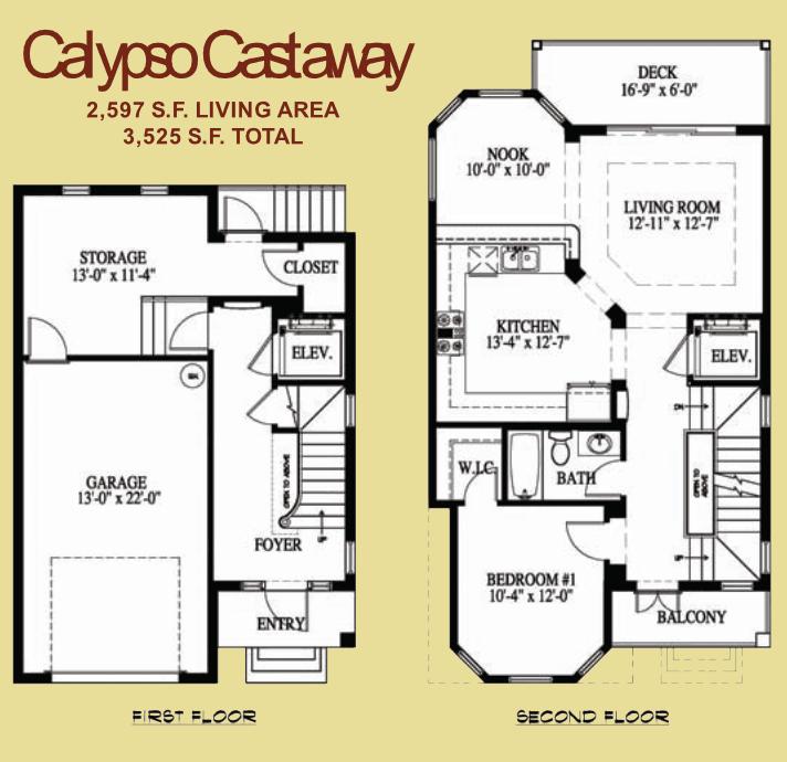The Calypso Castaway - 1
