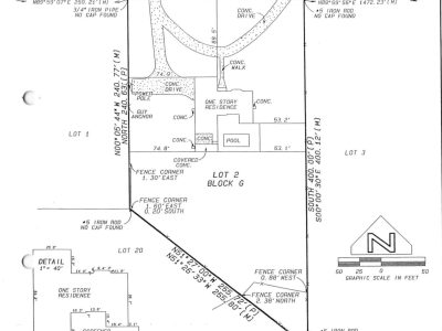 Pine Ridge Estates Lot 78 Survey